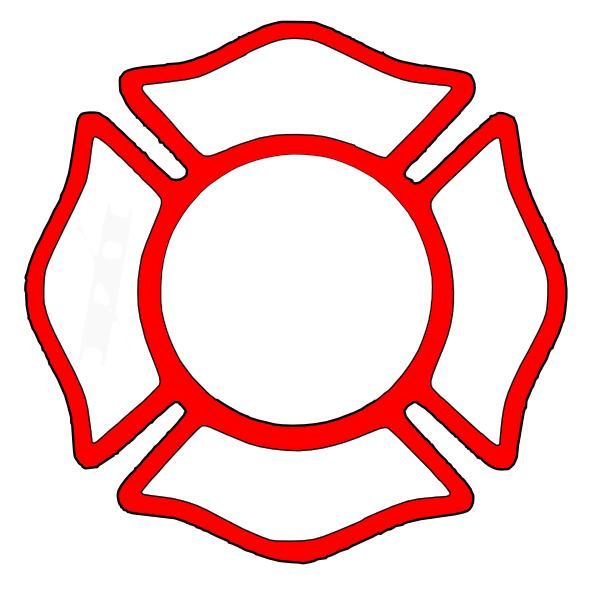 600x596 Fireman Helmet Clip Art