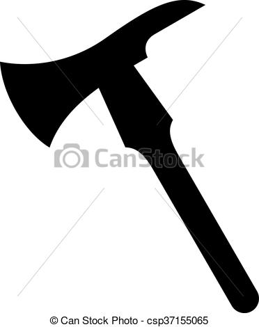 372x470 Firefighter Axe, Shade Picture Clip Art Vector