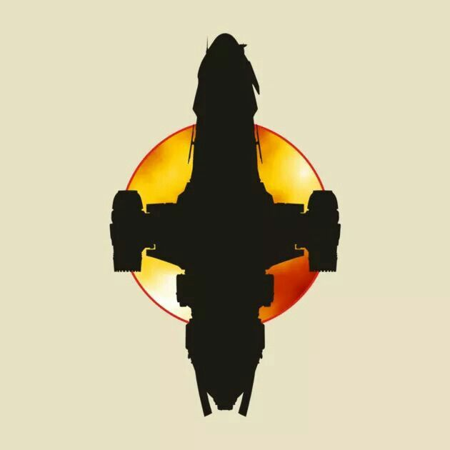 Firefly Ship Silhouette