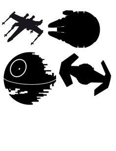 236x305 Star Wars Silhouettes Star Wars Room Star Wars