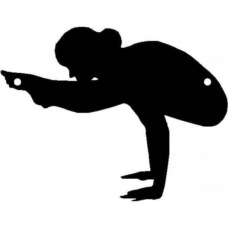 800x800 Firefly Pose Yoga Sport Wall Art Room Decor