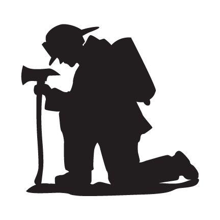 432x432 Kneeling Fireman