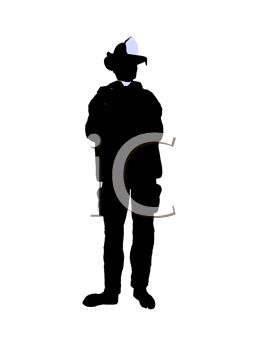 263x350 Clipart Illustration Of A Silhouetted Firefighter