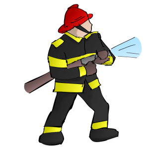 300x300 Firefighter Clip Art Download