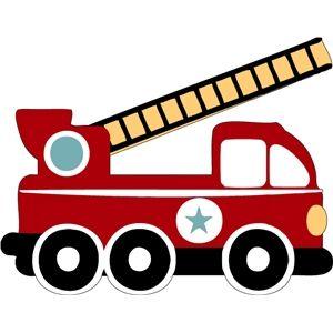 Firetruck Silhouette