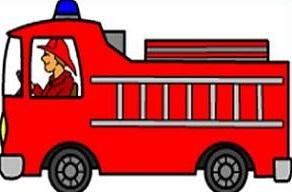 292x192 Fire Truck Firetruck Clipart Image Firetruck Silhouette Clipartcow