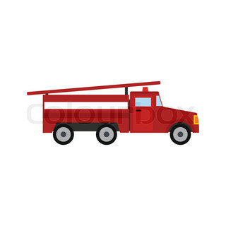 320x320 Fire Truck Mechanics Symbol Of Fire Engine With Red Cabin