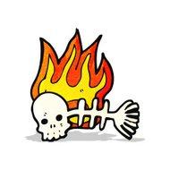 190x190 Fish Skeleton Premium Clipart