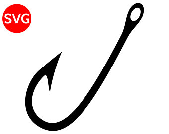 fish hook silhouette at getdrawings com free for personal use fish rh getdrawings com fish hook clip art free fish hook clipart black and white