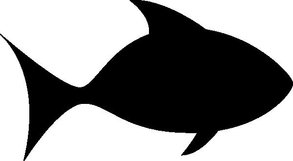 600x330 Fish Silhouette Clipart. Vizi Habitat