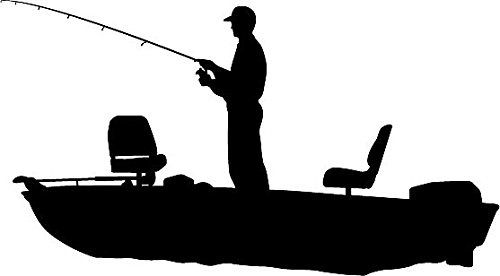500x276 Like Idea Of Silhouette Of Bass Boat And Guy Fishing Vdeaqq