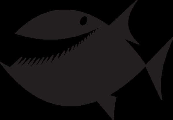 Fish Silhouette Clipart