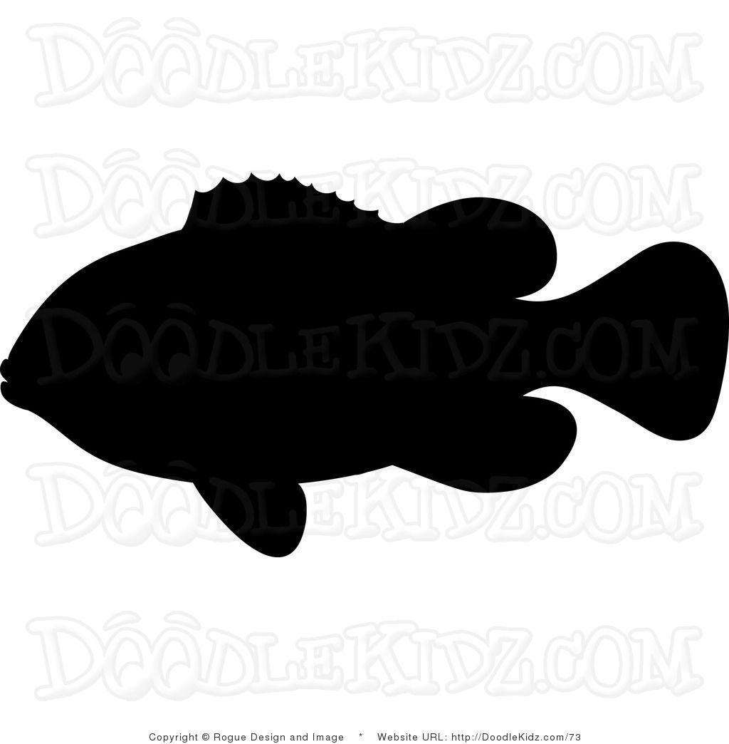 1024x1044 Ocean Fish Shilohuettes Clipart Illustration Silhouette