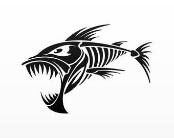 340x270 Fish Skeleton Etsy