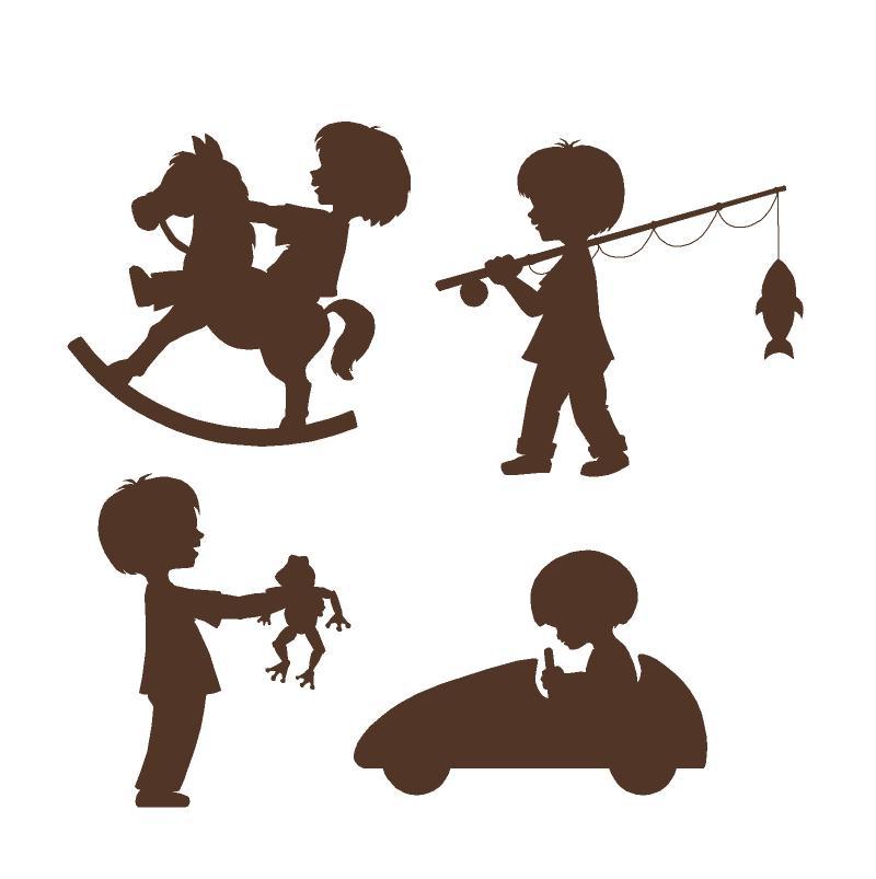 800x803 Boy Fishing Clipart Silhouette