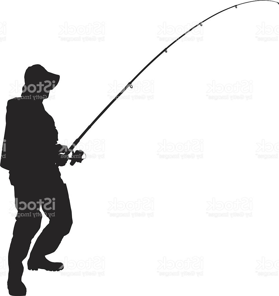 965x1024 Best Free Vector Of Fisherman Holding Fishing Pole Pictures