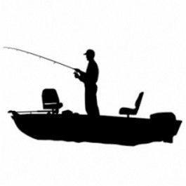 265x265 Fishing Decal Decals Engraving Ideas