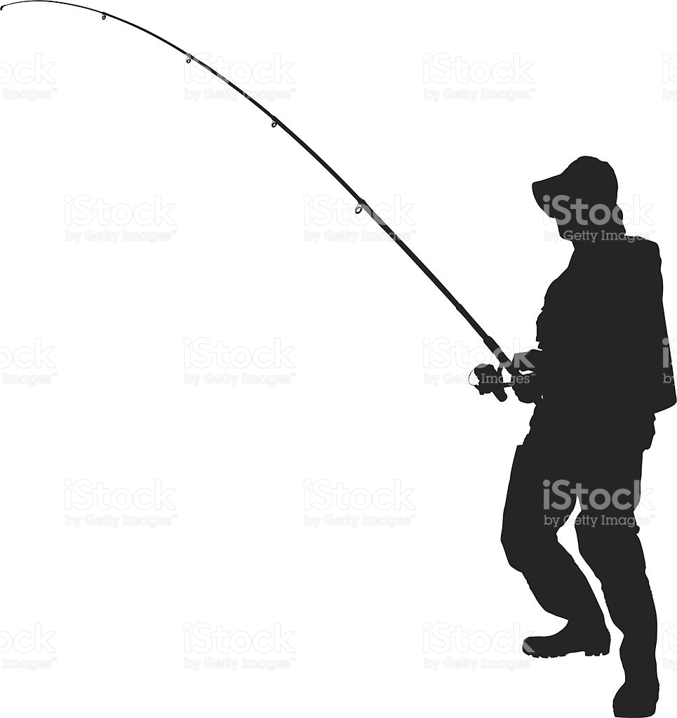 965x1024 Fishing Rod Clipart Fisherman