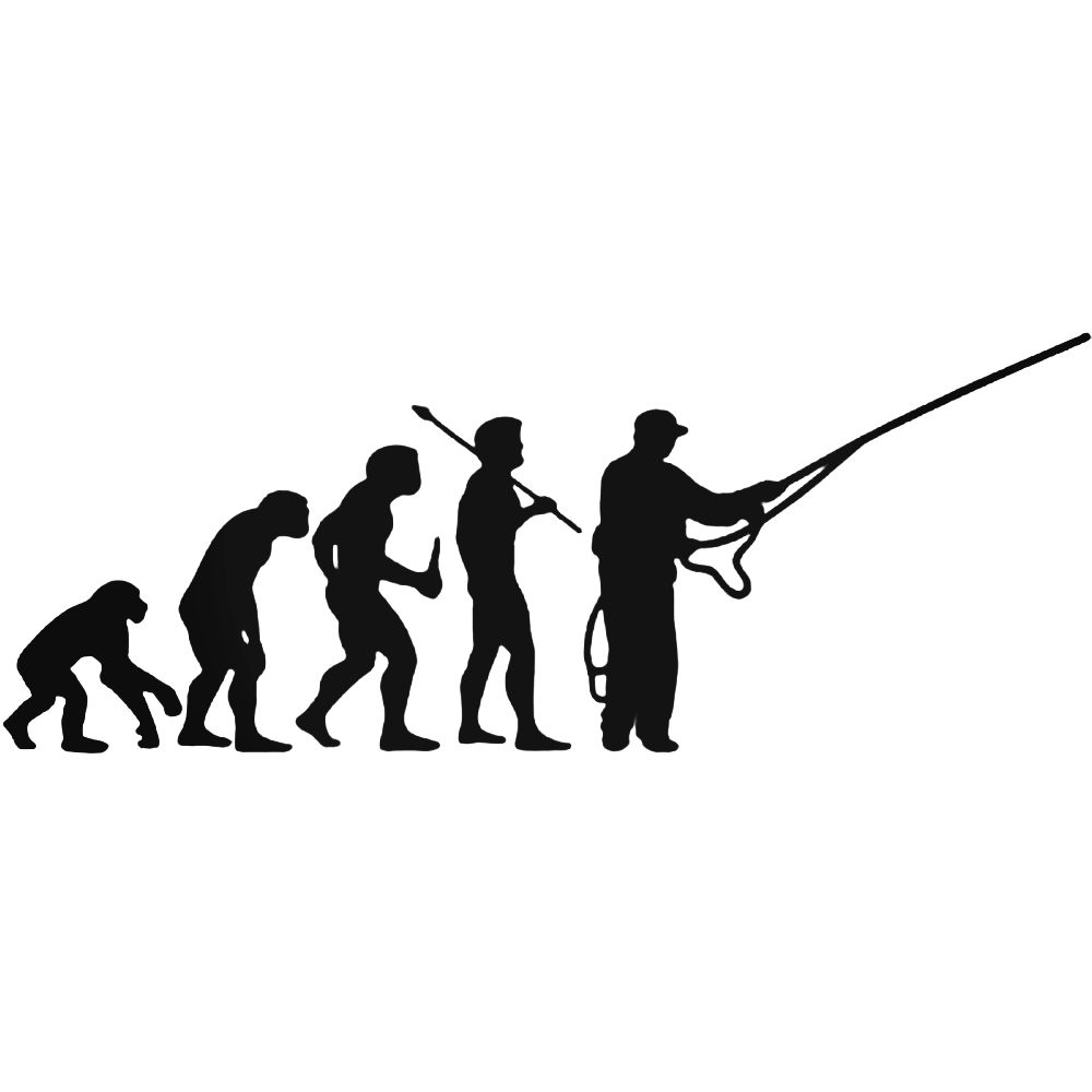 1000x1000 S Fly Fishing Evolution Decal