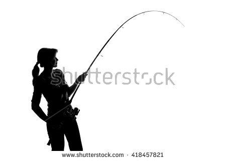 450x320 Fishing Silhouette