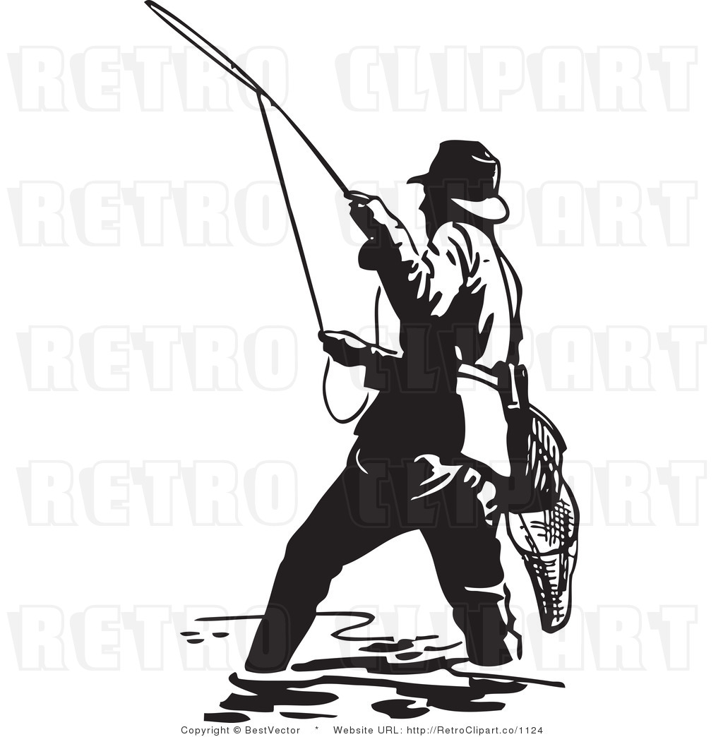 1024x1044 Fishing Rod Clipart Trout Fishing