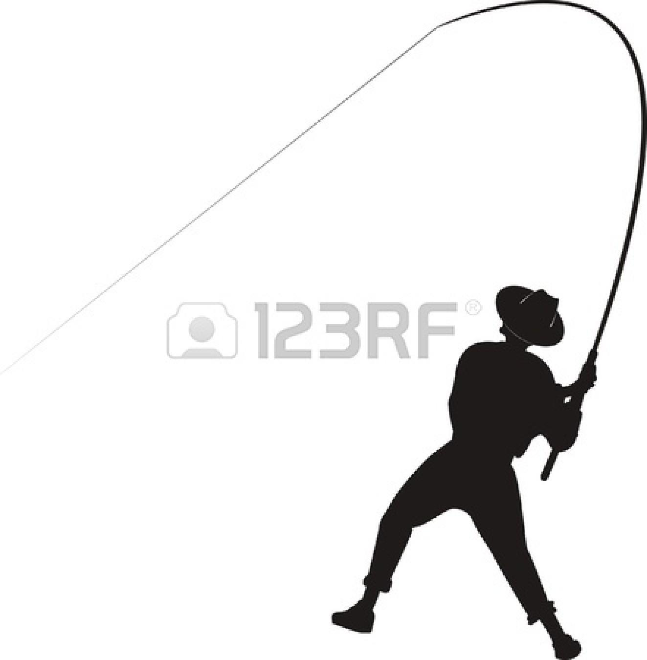 1323x1350 Fly Fishing Silhouette Cast. Clipart Info. Free Fly Fishing Vector