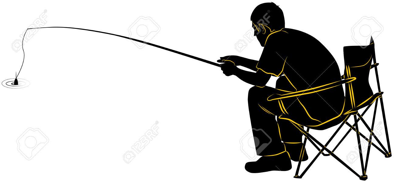 1300x596 Fishing Rod Clipart Guy Fishing