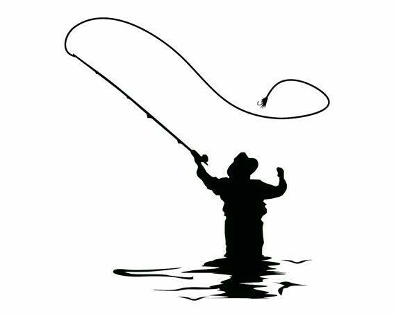 570x456 82 Best Silhouettes Fish Fishing Silhouettes Images