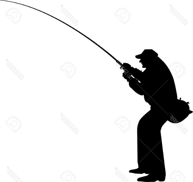 775x734 Fisherman Silhouette Clipart