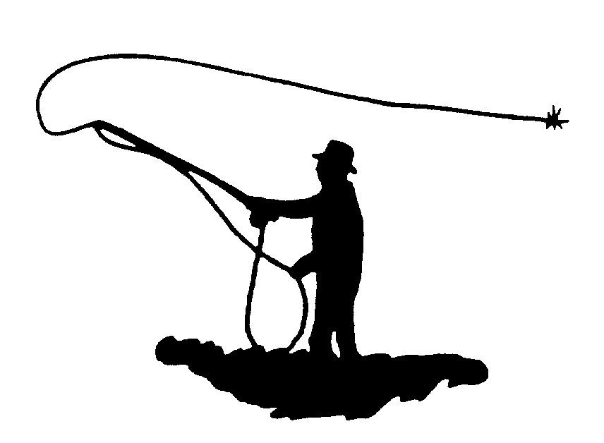 856x628 Fly Fishing Silhouette