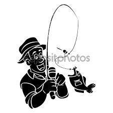 225x225 Fly Fishing Silhouette Fishing Rods Fly Fishing