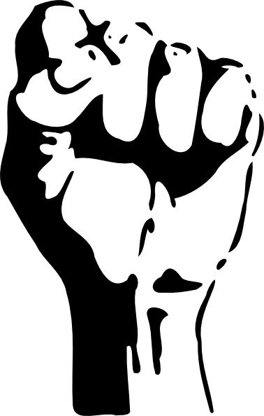 378x594 Raised Fist Clip Art Free Vector In Open Office Drawing Svg ( Svg