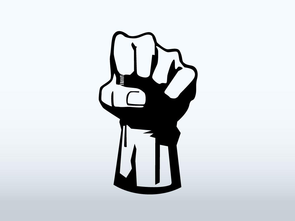 1024x765 Vector Fist Icon
