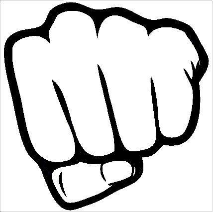 428x426 Fist Icon