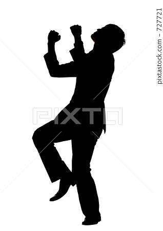 318x450 Fist Pump, Silhouette, Silhouettes
