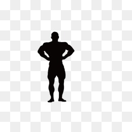 260x260 Fitness Silhouette Figures PNG Images Vectors And PSD Files