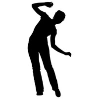 200x200 Person Persons Human Silhouette Silhouettes Exercise Exercises