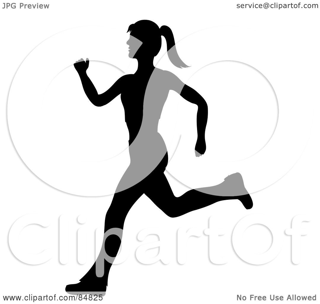 1080x1024 Royalty Free (Rf) Clipart Illustration Of A Fit And Healthy