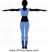 164x175 Royalty Free Yoga Stock Silhouette Designs
