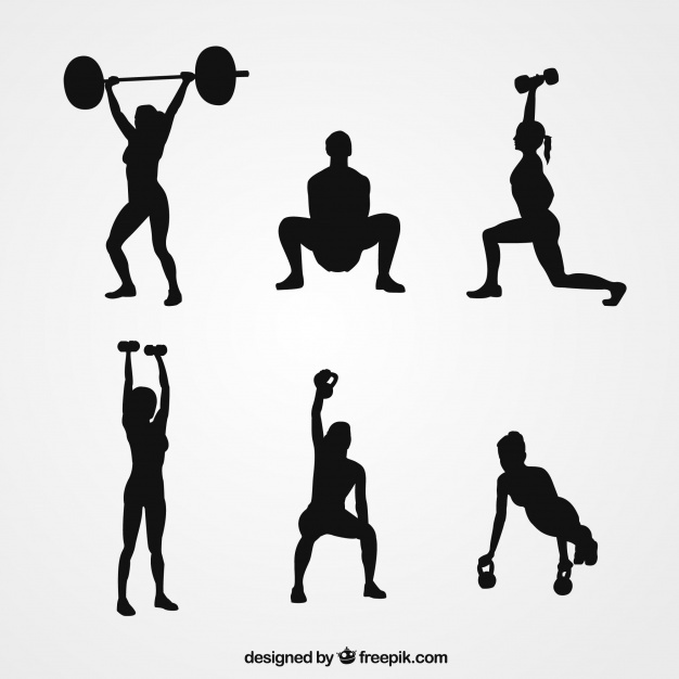 626x626 Weight Silhouette Vectors, Photos And Psd Files Free Download