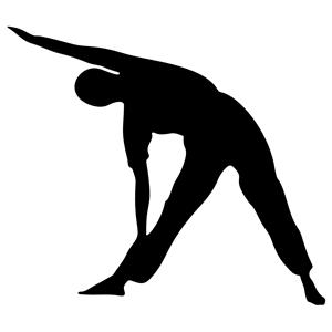 300x300 Yoga Pose Silhouette Clipart, Cliparts Of Yoga Pose Silhouette