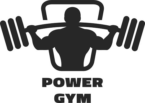 491x350 Silhouette Of An Athlete With A Premium Clipart