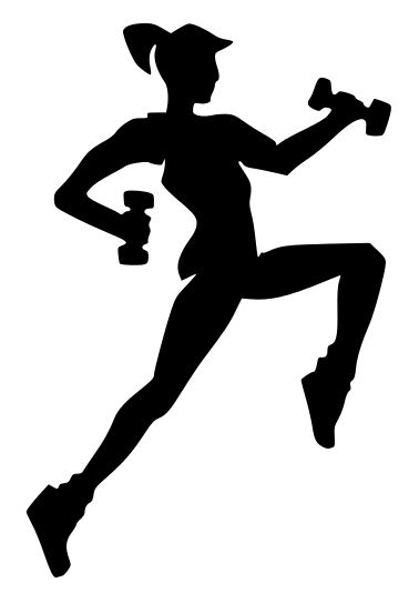 378x543 Fitness Silhouette Girl
