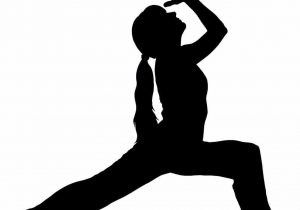 300x210 Fitness Clipart Clip Art Library Fitness Yoga Guy Silhouette
