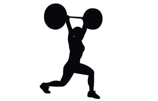 550x354 Free Fitness Silhouette Clipart Free Fitness, Clip Art