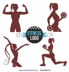 236x246 Silhouettes Of Gym Free Vector Free Vectors