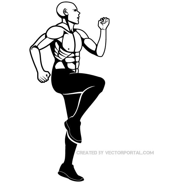 600x600 Fitness Clip Art Image Download Free Vector Art Free Vectors