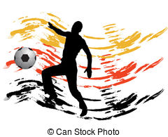 240x195 Boy With A Soccer Ball Silhouette Vector Clipart Eps Images. 37