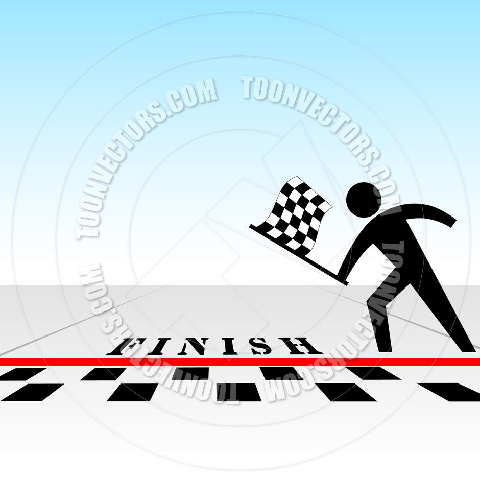 940x940 Checkered Flag