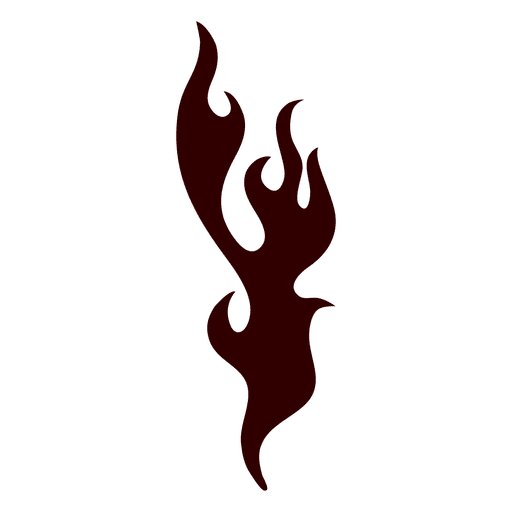 512x512 Fire Flame Silhouette Icon Fire Silhouette
